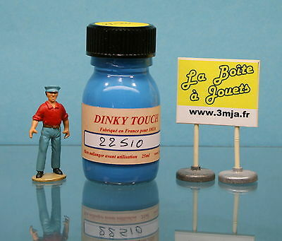 Peinture Dinky Touch bleu marine  pour Ford Vedette  Dinky Toys 24X 24200