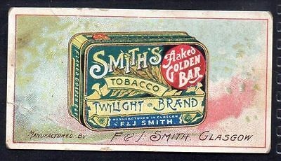 Smith - Advertisement Cards - One Card, H403 #24