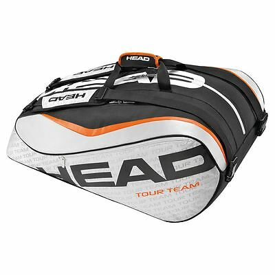 Head Tour Team Monstercombi 12 Spacious Tennis Squash Racket Bag