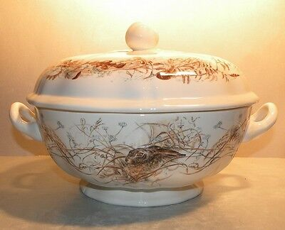 NEW Soup Tureen Sologne Pattern From GIEN