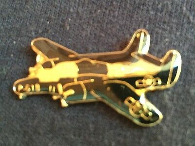 Northrop P-61 B Black Widow Night Fighter Plane Lapel Hat Pin New Old Stock