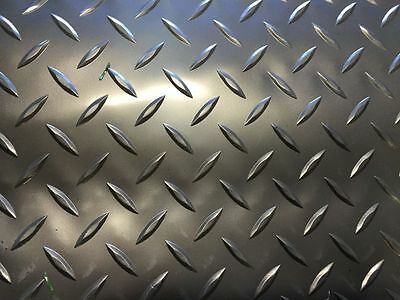 CHECKER PLATE PVC RUBBER GARAGE FLOORING MATTING 2M WIDE 2mm THICKNESS GRAPHITE
