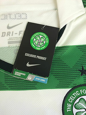 Celtic official Nike hoop home top long sleeve only £14.99 free posting UK.