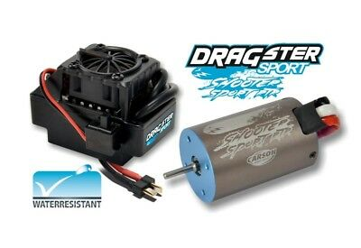 "Carson Brushless Set 8T ""Waterproof"" 1:10 bis 500W Lipo/NiMH - 500906237"