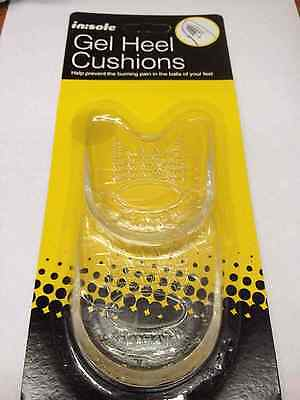 Gel Heel Cushions for  Shoes  boots  man woman unisex