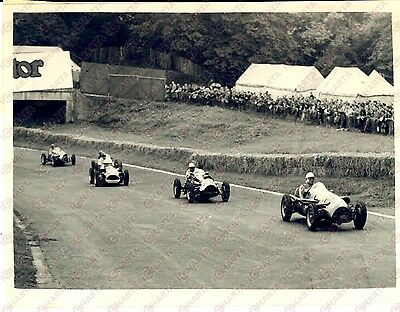 1953 LONDON TROPHY RACE Stirling MOSS driving his COOPER  *Photo 20x15 cm