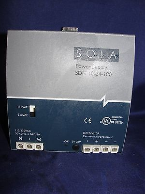 SOLA SDN 10-24-100 Power Supply 115/230VAC