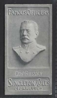 Singleton & Cole - Famous Officers - #22 Genl Russky
