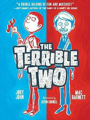 Terrible Two by Jory John (English) Hardcover Book Free Shipping!
