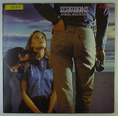 "12"" LP - Scorpions - Animal Magnetism - A2459 - washed & cleaned"