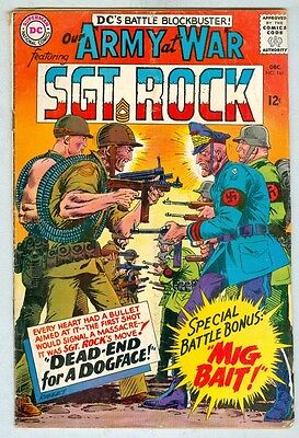 Our Army at War #161 December 1965 VG-
