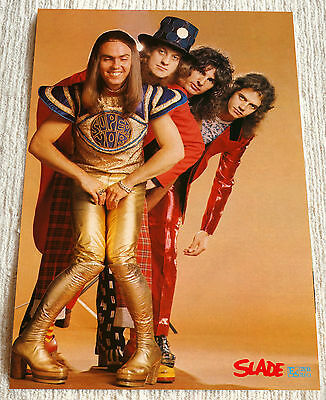 Slade poster Sladest Photosession '74 period Poster