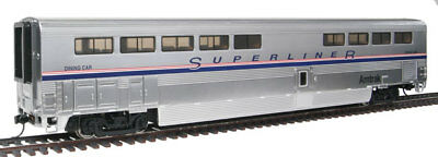 Walthers Proto HO Scale 85' Bombardier Superliner II Diner Amtrak (Phase IV)