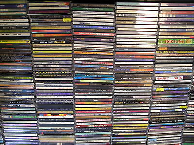 ! 160 Cd's Wholesale Grab Bag Mixed Genre Music Collection Jazz Pop Rock Country