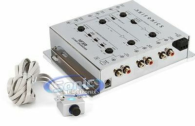 NEW! Hifonics HFXR 2/3-Way Active Electronic Crossover w/ Bass Boost & Remote