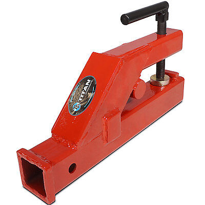 "Titan Clamp On Trailer Receiver Hitch 2"" Deere Bobcat tractor bucket (BH)"