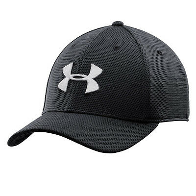 Under Armour Blitzing Ii Stretch Fit Cap Basecap Mütze Kappe Black 1254123-001