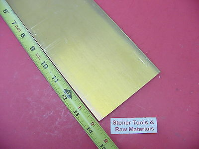 "1/4"" x 4"" C360 BRASS FLAT BAR 14"" long Solid .250"" Mill Stock H02"