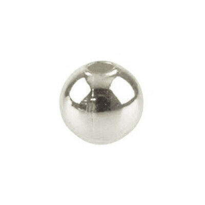 Packet 600+ Silver Iron 3mm Round Spacer Beads HA01976