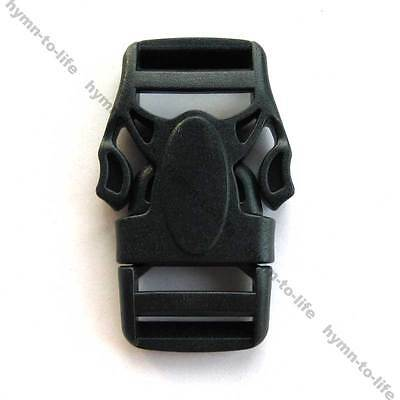 "20/50 pcs Black plastic Strong Lobster-shape Buckle For 3/4"" Belt M486-20"