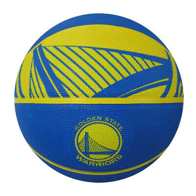 Spalding NBA Golden State Warriors Full-Sized Court Side Basketball, 29.5""