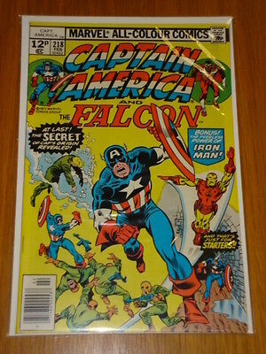 Captain America #218 Marvel Comic Near Mint Condition February 1978