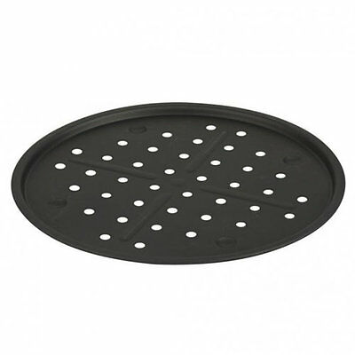 """12"""" Inch Non-Stick Pizza Pan Tin Vented Round Baking Oven Tray 30cm"""