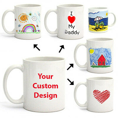 Create Your Own Personalised Customized Mug Draw Paint Design Artistic Creative