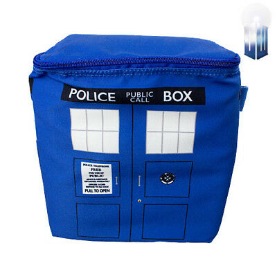 Super Cool Dr Doctor Who Tardis Cooler Bag Made in  Picnic Camping