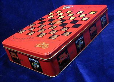 Arnott's Tiny Teddy Biscuit Cake TIN - Draughts Game & Rules