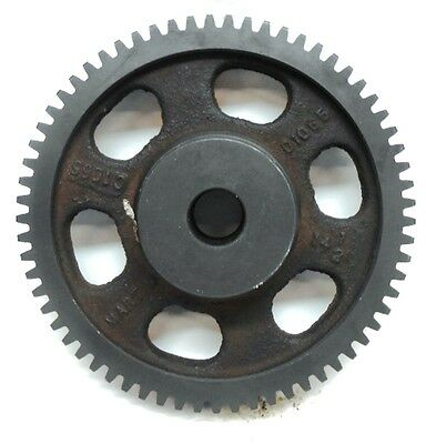 "Martin, Spur Gear, C1065, 14.5 Deg, 65 Teeth, 7/8"" Bore, 6.7"" Od"