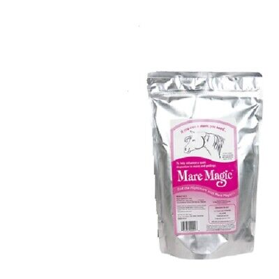 Mare Magic All Natural Herbal Calming Supplement Quiets Disposition 60 days 8 oz