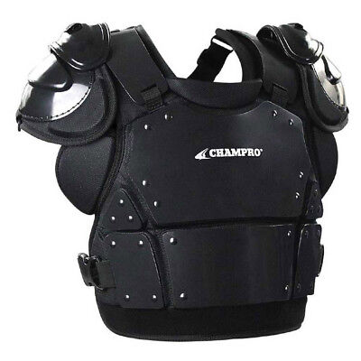 "Champro Pro-Plus Umpire Chest Protector Plate Armour CP335 Adult L  (14.5""H)"