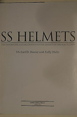 WW2 German SS Helmets Of The Black Corps History Use & Decoration Reference Book