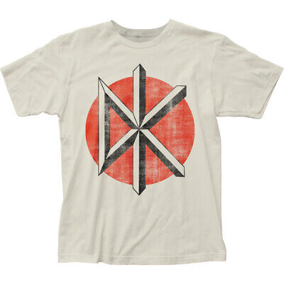 Dead Kennedys Distressed Logo White Licensed Adult T Shirt