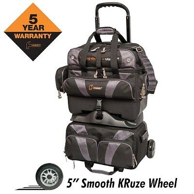 Hammer Premium 4 Ball Roller BLACK/CARBON Bowling Bag