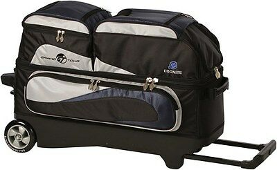 Ebonite Grand Tour 3 Ball Roller Bowling Bag