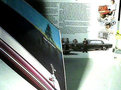 TRES BEAU CATALOGUE ROLLS ROYCE SILVER SHADOW 1979 (english)