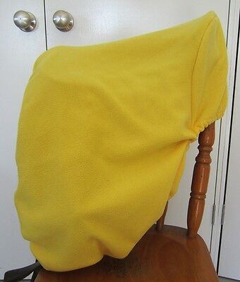 Horse Saddle cover Yellow with FREE EMBROIDERY Australian Made Protection