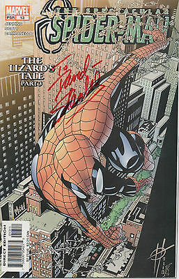 SPIDERMAN personally signed MARVEL comic - STAN LEE - THE LIZARDS TALE