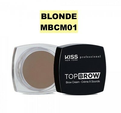 Kiss New York Professional Top Brow Brow Cream Kbcm01 Blonde For Your Eyebrows