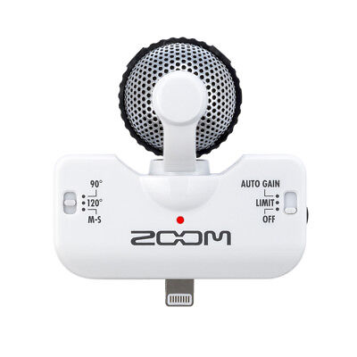 Zoom iQ5 Professional Stereo Microphone for Apple iPhone