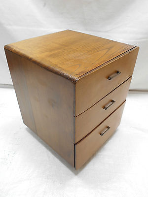 Antique Sugi and Kiri Wood Box Japanese Drawers Circa 1920s #466