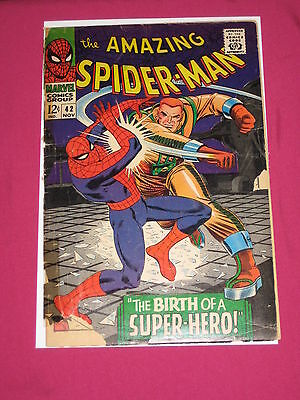The Amazing Spider-Man #42 Marvel Comics 1966, 1st Full Mary Jane Appearance