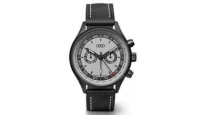 ORIGINAL AUDI MONTRE CALENDRIER gris noir montre AUDI Collection Gris Noir
