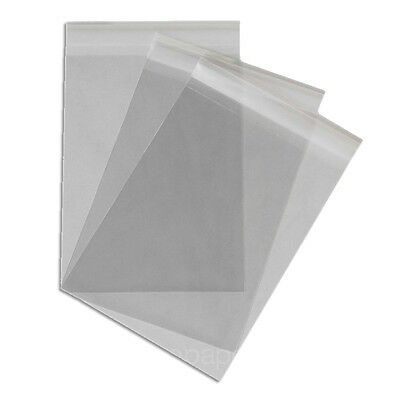 50 Cello Bags Chrystal Clear Size C6 for Cardmaking NEW