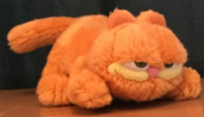 Small 9 Inch Garfield The Cat Soft Toy