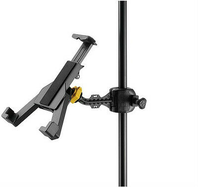 Hercules DG305B NEW TabGrab Tablet/iPad Holder for Music Stands