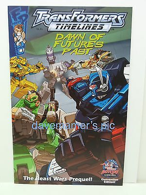 Fun Publications Comic Book Transformers: Timelines #1 (2006) Botcon Beast Wars