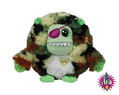 "Ty Beanie Babies Monstaz Patch 6"" Talking Sound Effect Soft Toy New With Tags"